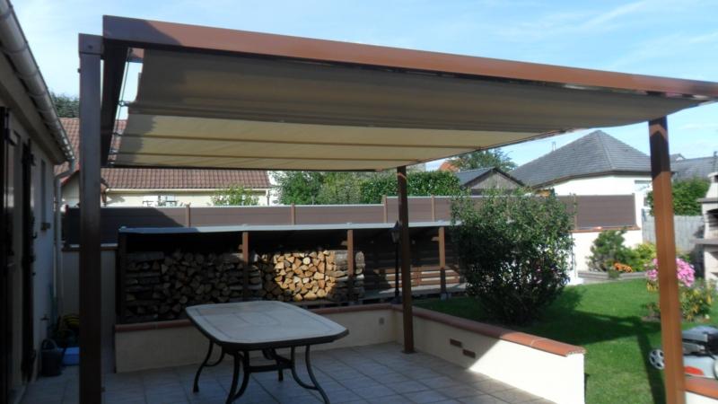 Toile pvc pour terrasse bache bourgoin for Bache opaque