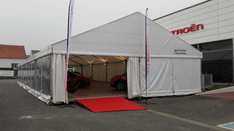 Location de tente barnum pour un événement ponctuel