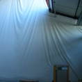 Bâche pour mur et séparation de batiment en toile PVC