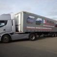 Rideau de camion en bâche PVC imprimé BOURGOIN