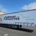 Rideau de camion en toile PVC