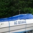 Taud de bateau en toile PVC