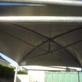 Bache pour toit en toile pvc pour petite structure métalique