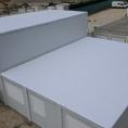 Toit en toile PVC d'une structure