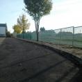 Mur de protection en grille