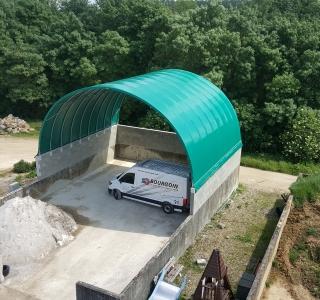Bâche tunnel